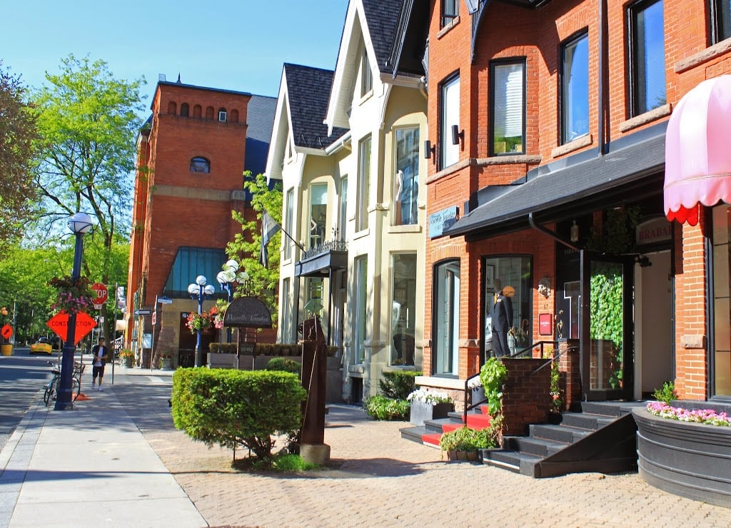 Travel blogger Mash Elle shares the best shops in downtown Yorkville