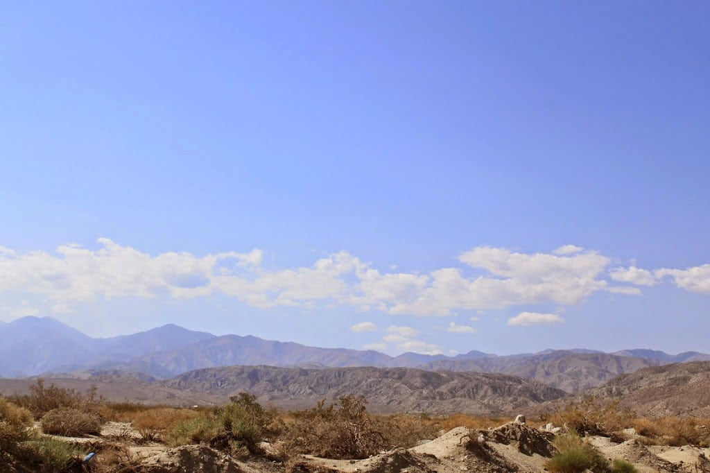 Palm Springs, California scenery