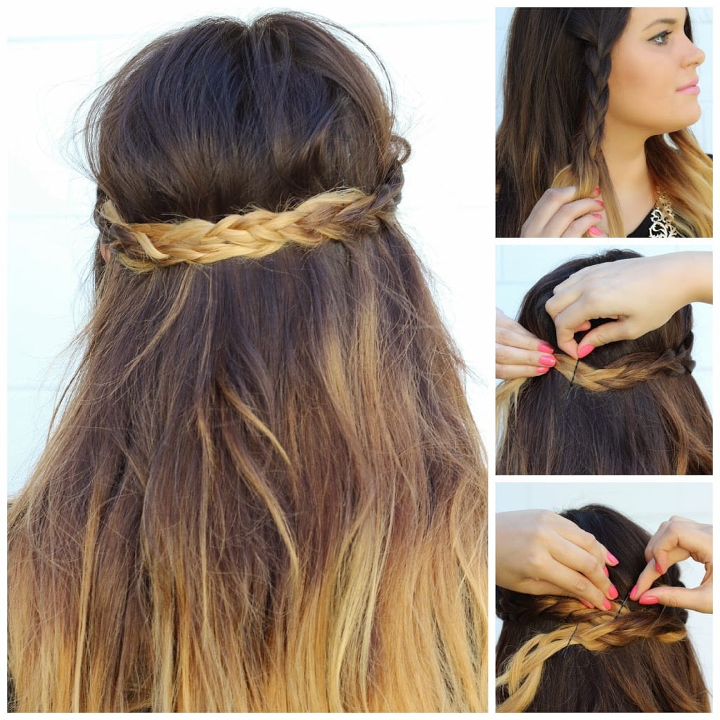 Braided Hairstyles For Long Hair Mash Elle