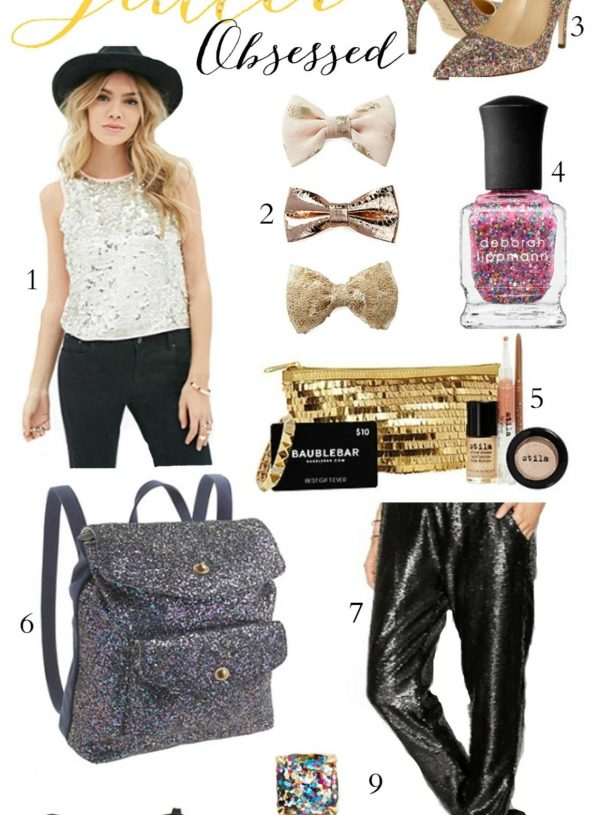 Fashion and beauty blogger Mash Elle shares a gift guide for girls who love glitter!