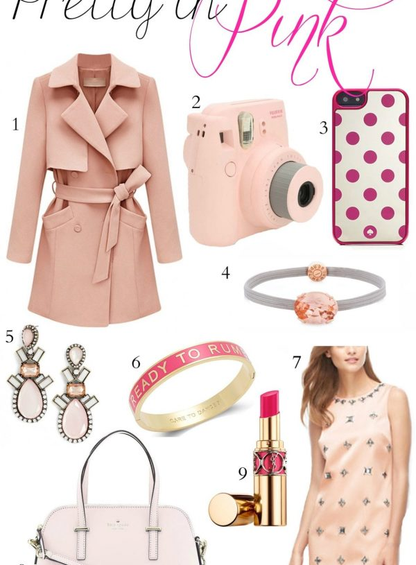Fashion blogger Mash Elle shares pretty in pink gift ideas for the girl who loves all things pink!