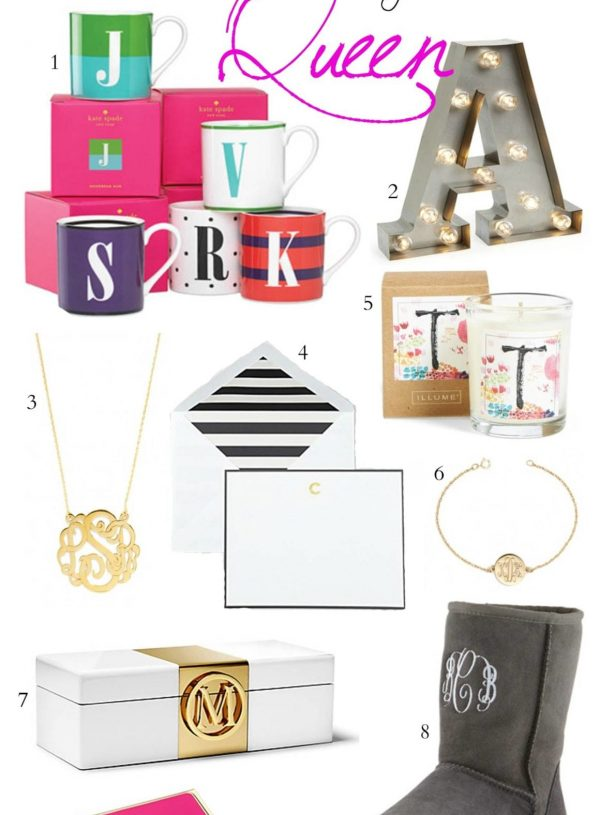 Gift Guide For the Monogram Queen