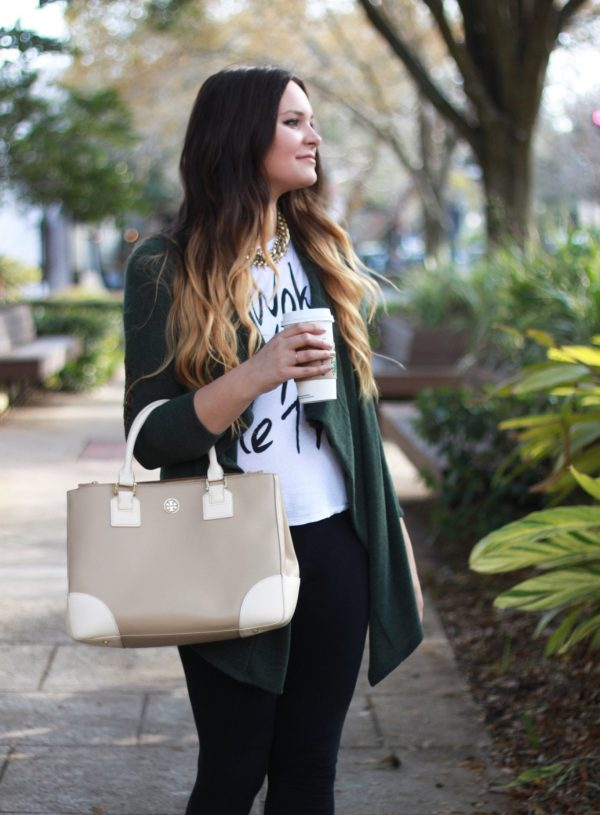 fall outfit Mash elle beauty blogger | cardigan | booties