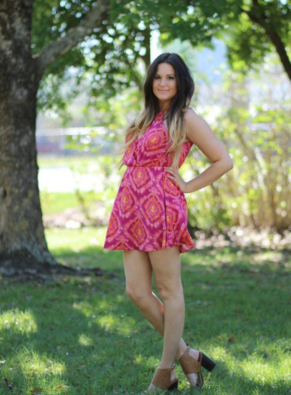 spring semi formal dress | spring dress | floral dress | semi formal dress | Mash Elle beauty blogger