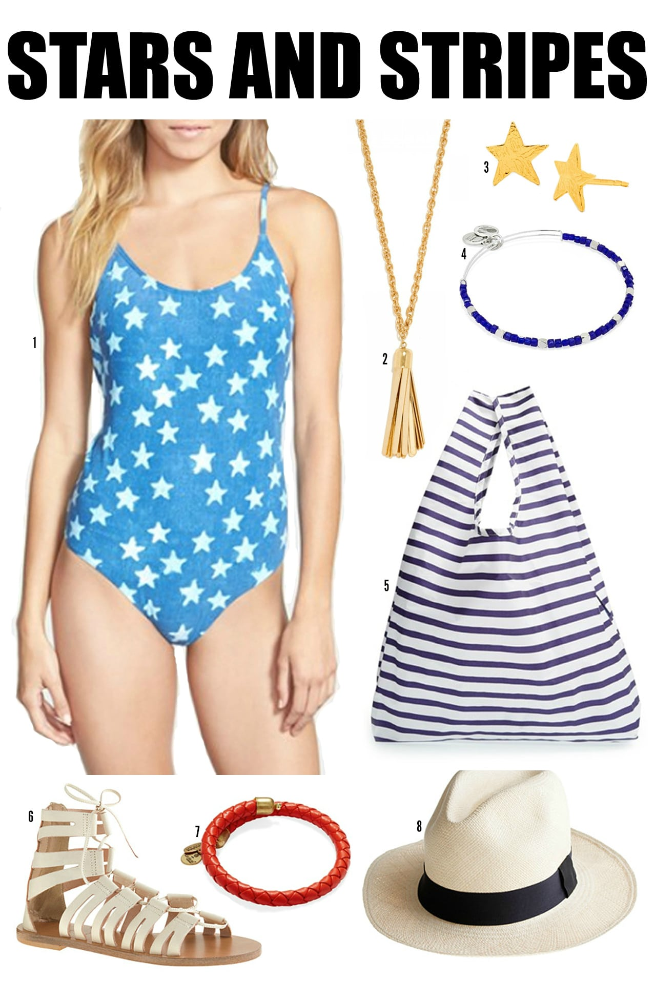JULY-4TH-OUTFIT-3 | patriotic outfit | stars outfit | stars bathing suit | july 4th
