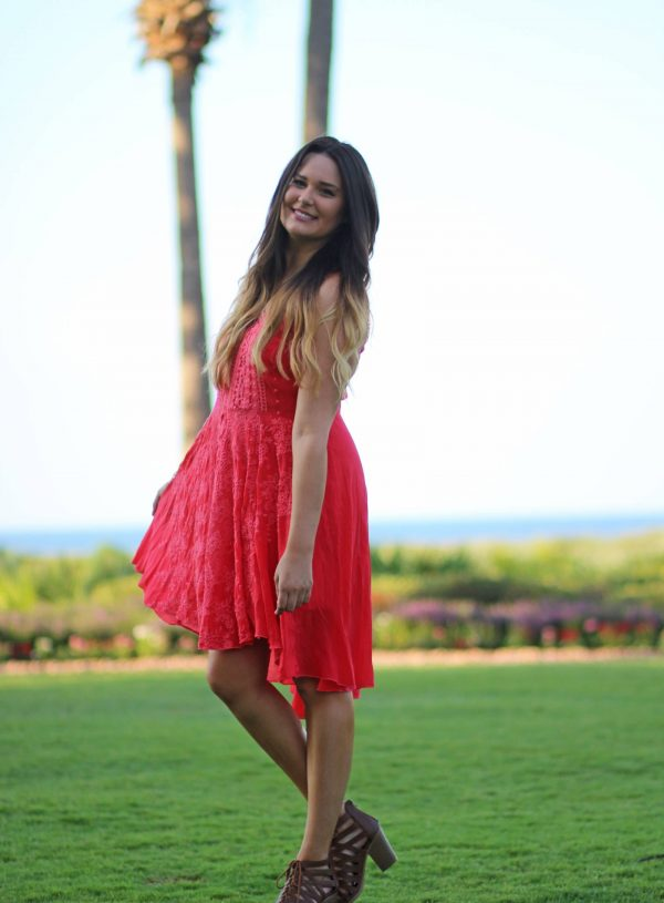 bohemian-dress-for-summer | bohemian-summer-dress | flirty lace dress | lace outfit | pink dress | dress for summer