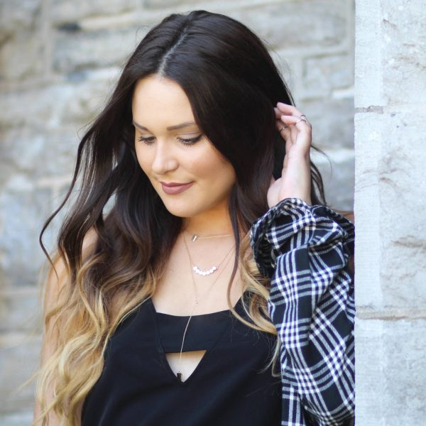 how to style plaid for fall mash elle