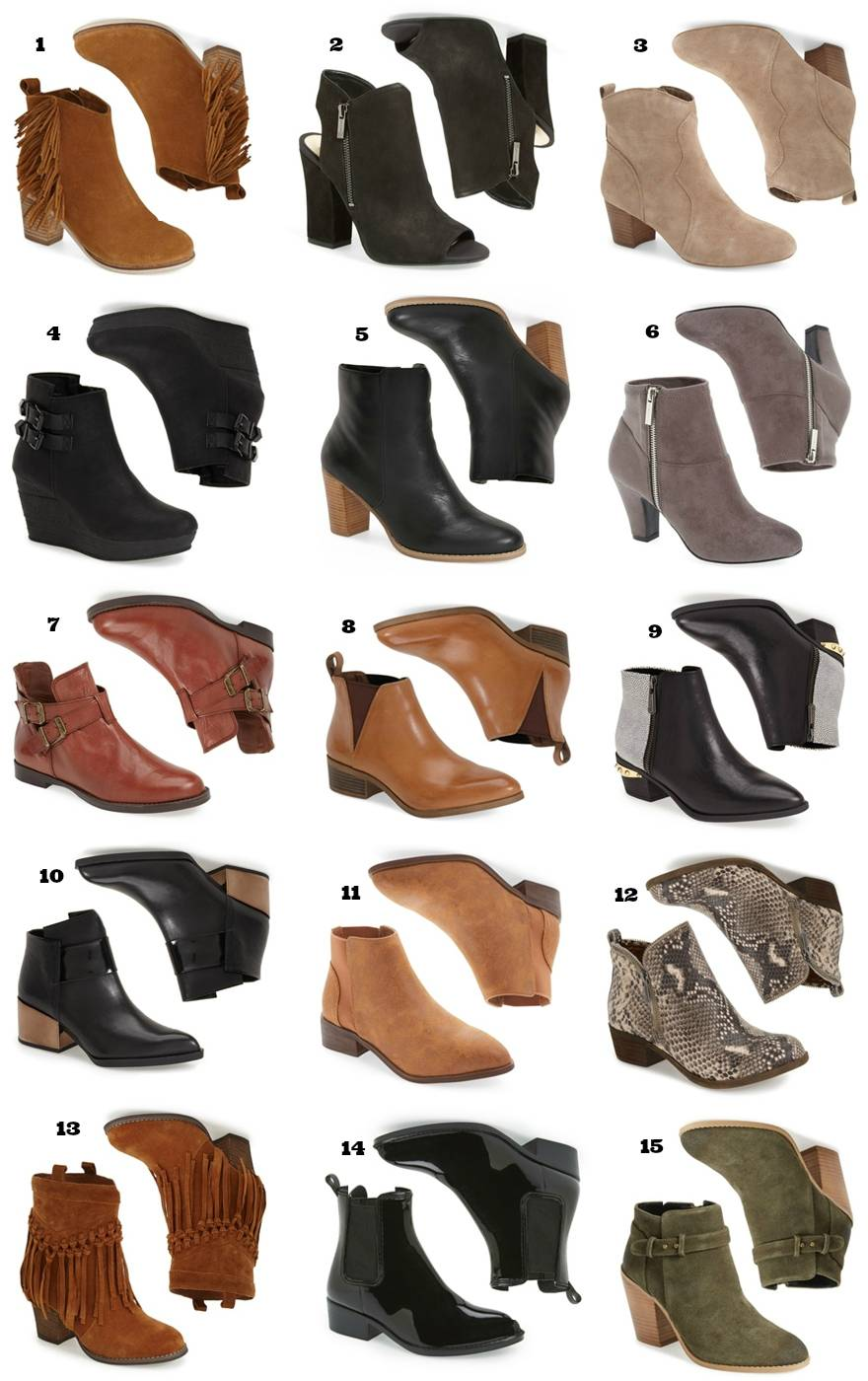 52252e398a2d Shop My Favorite Fall Boots + Booties Under  100