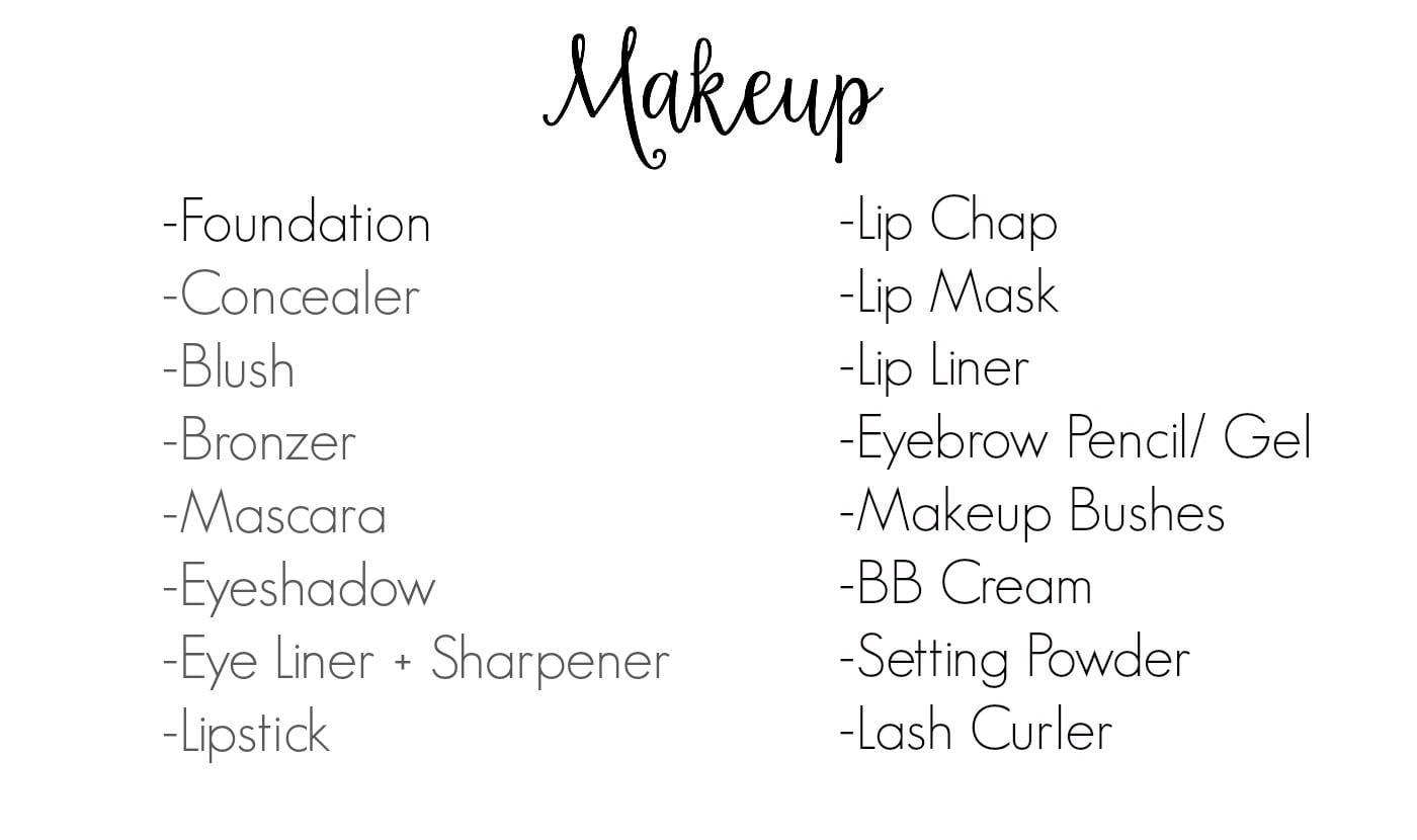 a list of makeup products - Style Guru: Fashion, Glitz ...