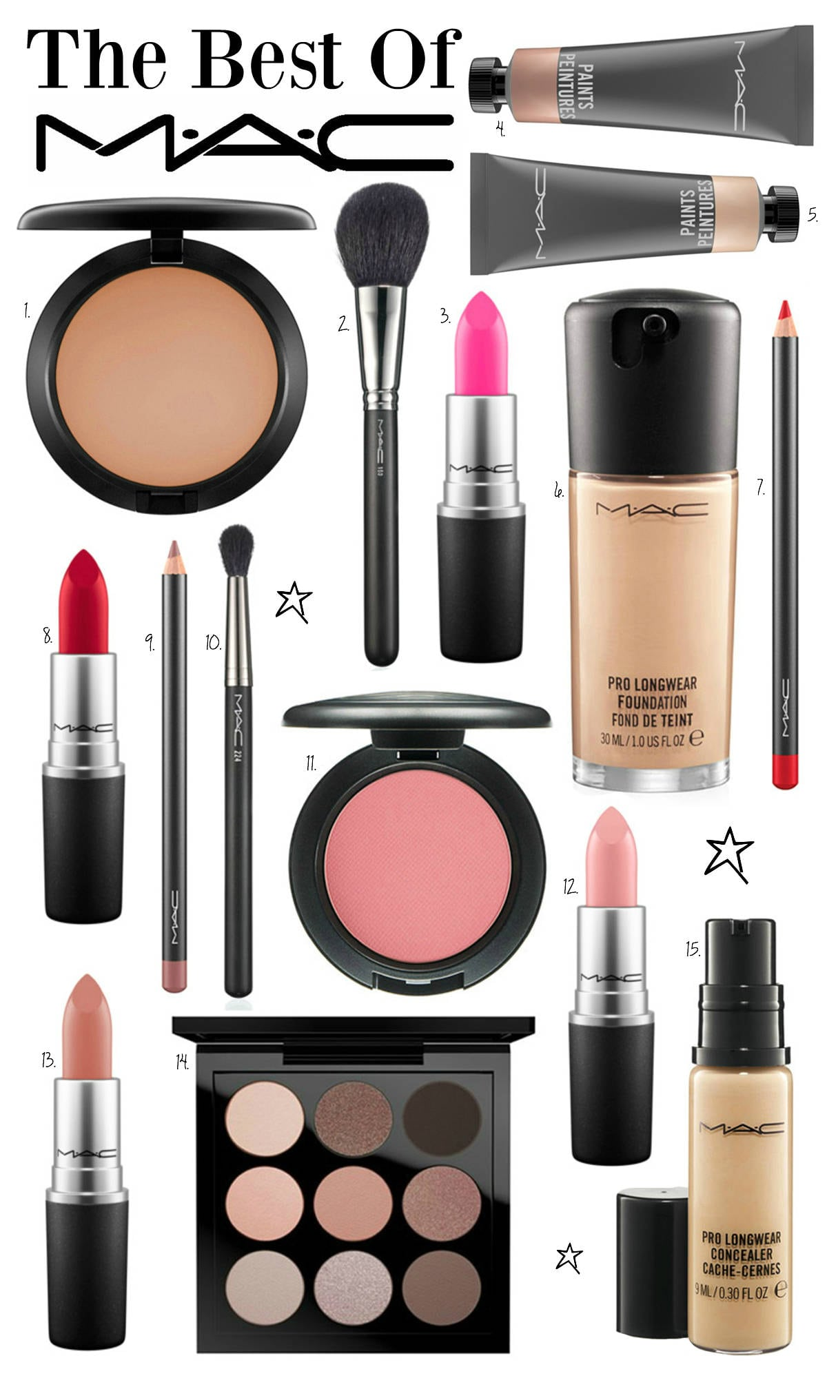 best MAC makeup products