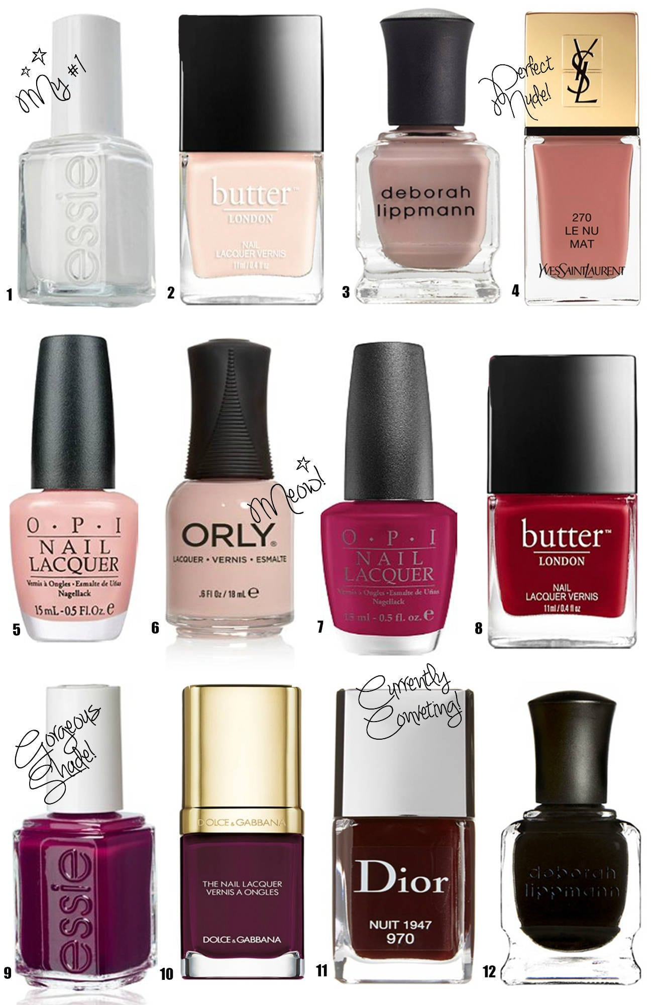 Best Fall Nail Polishes - Mash Elle
