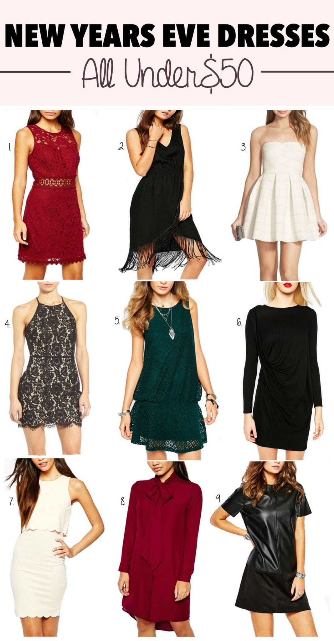 2e24d0cd29c3 What to Wear for Your Parties This New Years Eve