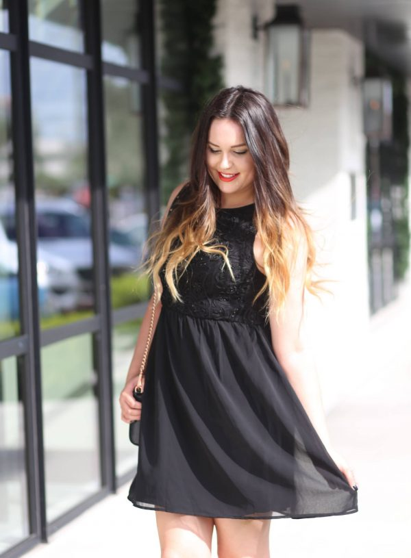 Mash Elle beauty blogger | LBD | little black dress | dresses | cute dress