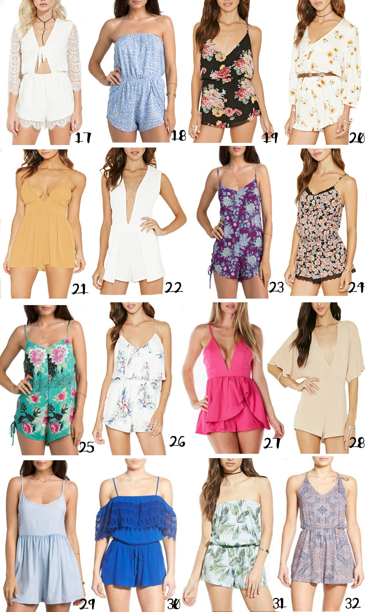 Spring rompers   fashionable rompers   rompers for tall girls   Mash Elle beauty blogger