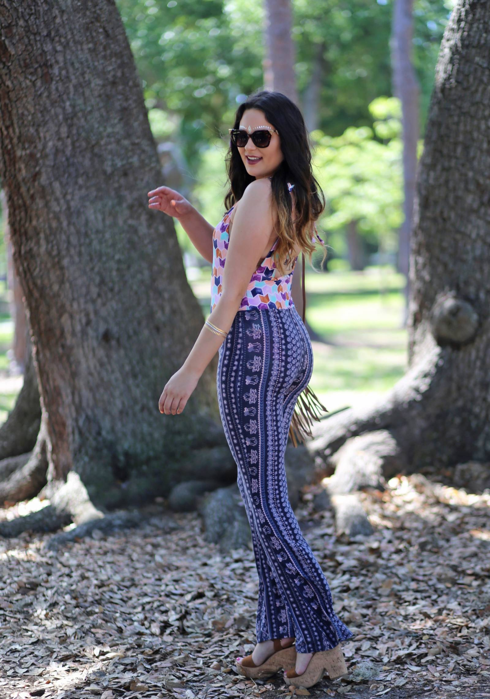 how to style flared pants | festival outfit ideas | Target | Target fashion | beauty blogger Mash Elle | boho style | festival outfits | festival style coachella outfit ideas