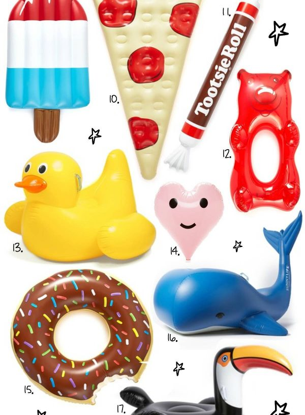 Fun Pool Floats For Spring Break