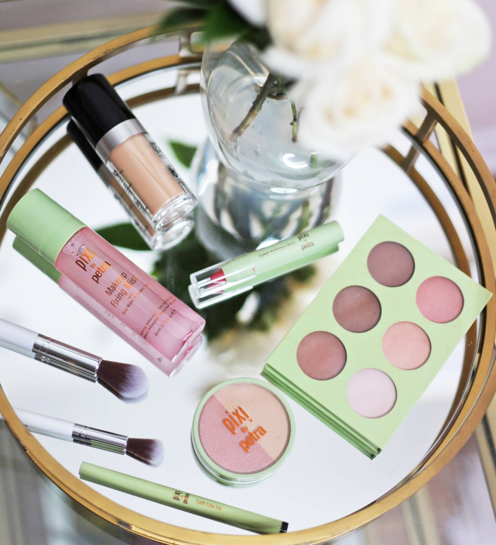 date night makeup tutorial drugstore makeup | Mash Elle beauty blogger | makeup for dates | Pixi Makeup | makeup tutorial