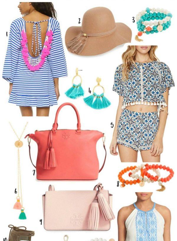 tassels spring style Mash Elle beauty blogger