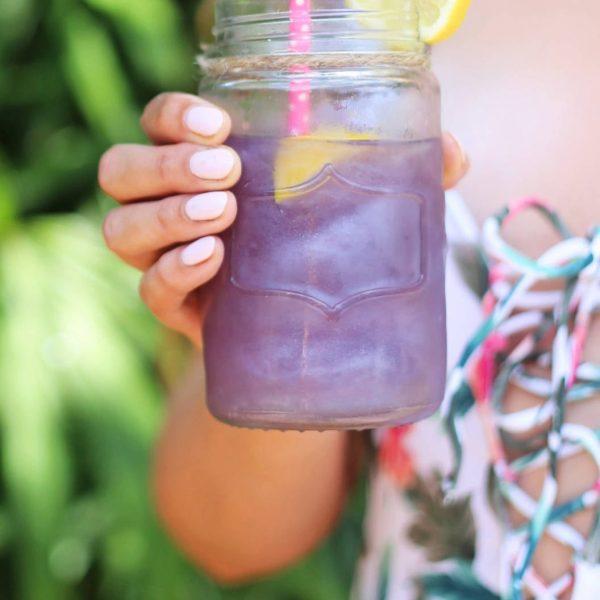 Mash Elle shimmery lemonade recipe for summer