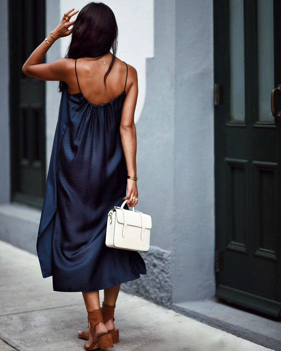 how to style a slip dress | Mash Elle beauty blogger | slip dress outfit
