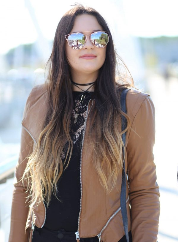 Currently Trending: Leather and Lace
