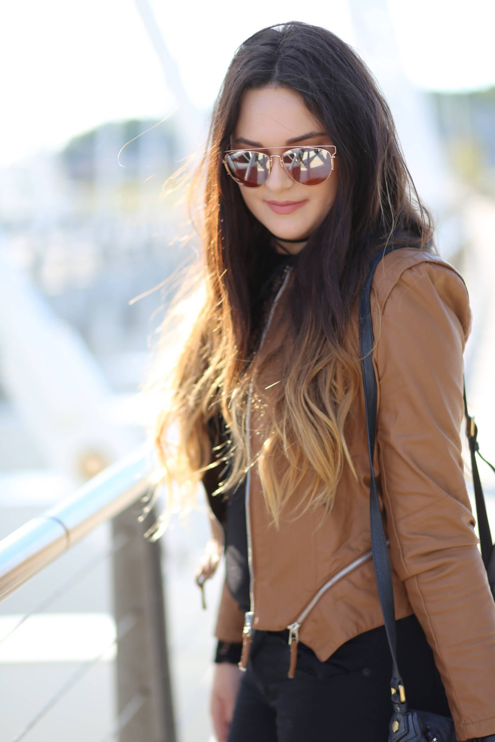 where to buy the best vegan leather jackets | where to buy the best sunglasses | leather and lace | fall fashion | Mash Elle beauty blogger