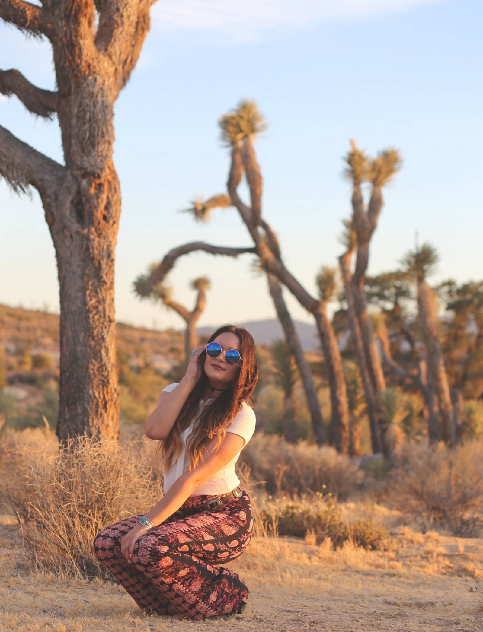 joshua tree national park inspired outfit