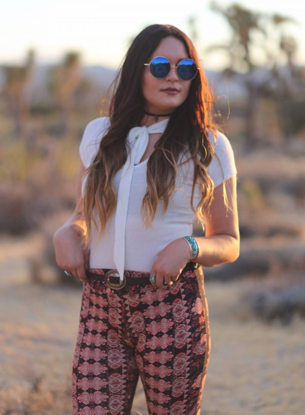 Boho Style In Joshua Tree National Park, California