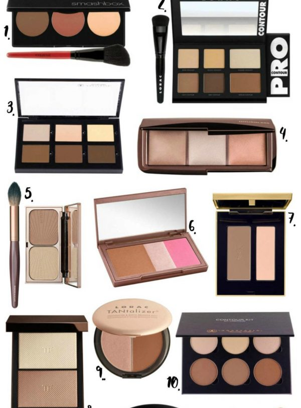 the best contour kits by popular Orlando fashion blogger Mash Elle
