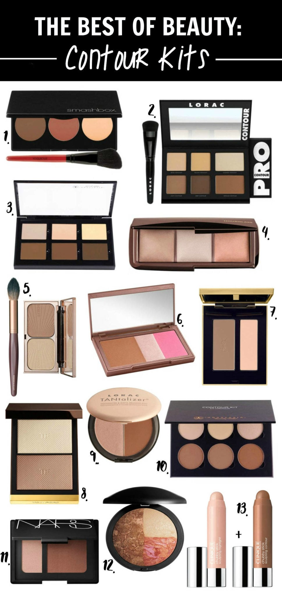 The Best Contour Kits Beauty Makeup