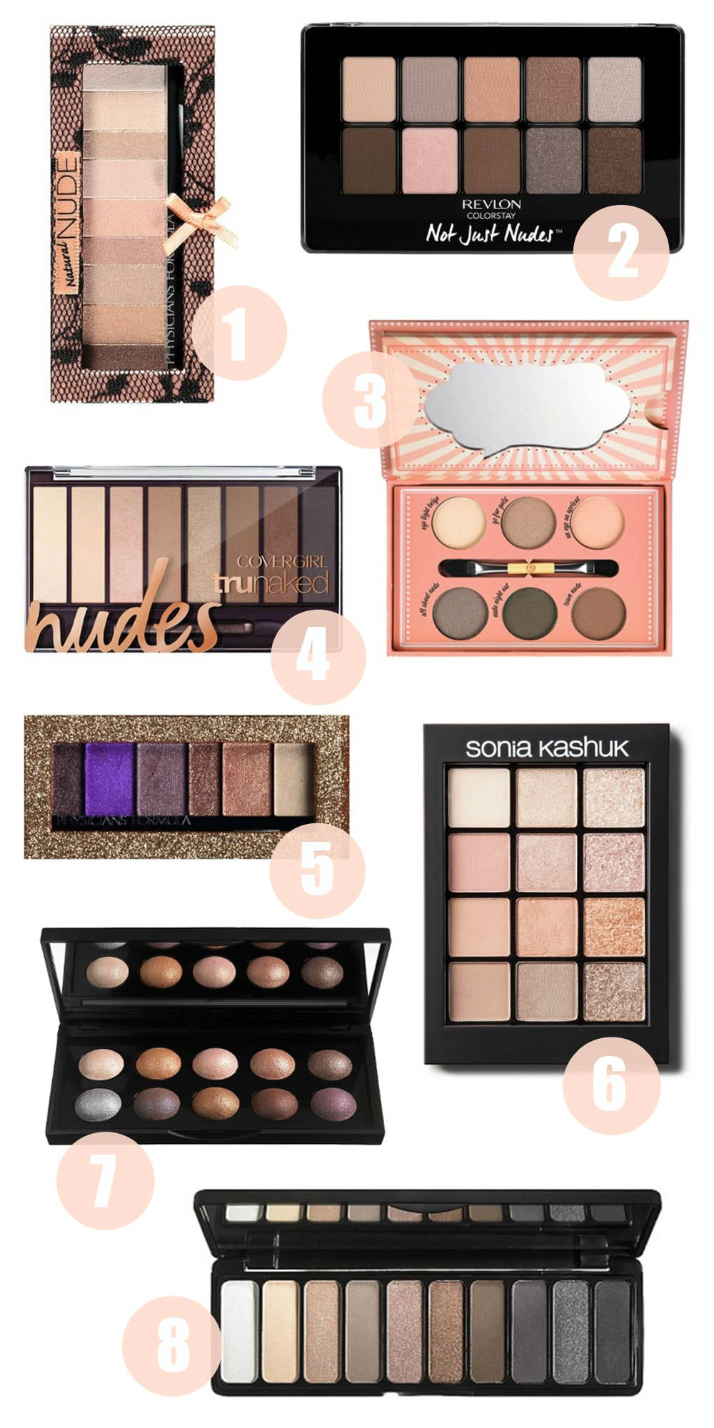 Beauty blogger Mash Elle shares her favorite drugstore eyeshadow palettes under $20