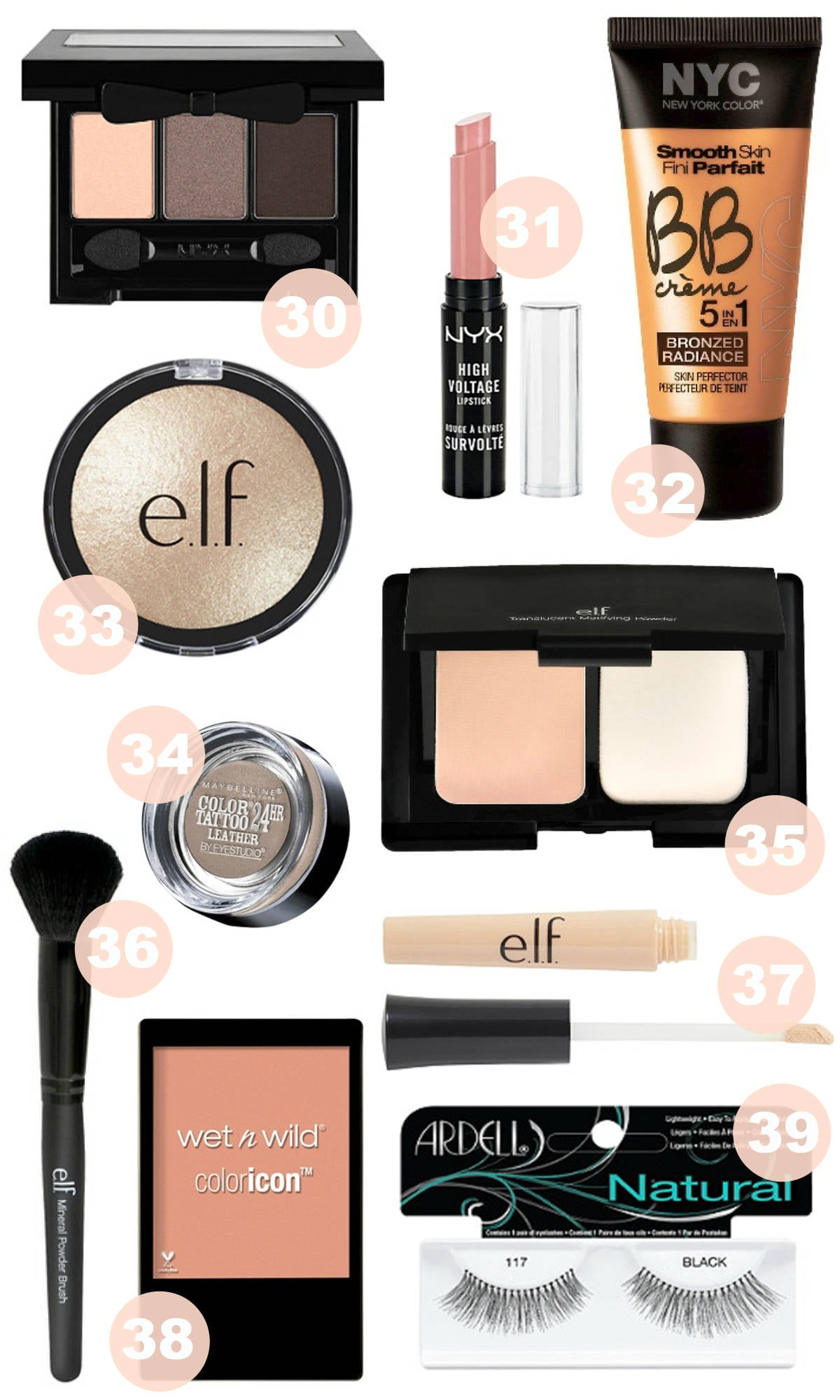aamakeup-under-5-2 - Best Makeup Products Under $5 by popular Orlando beauty blogger Mash Elle