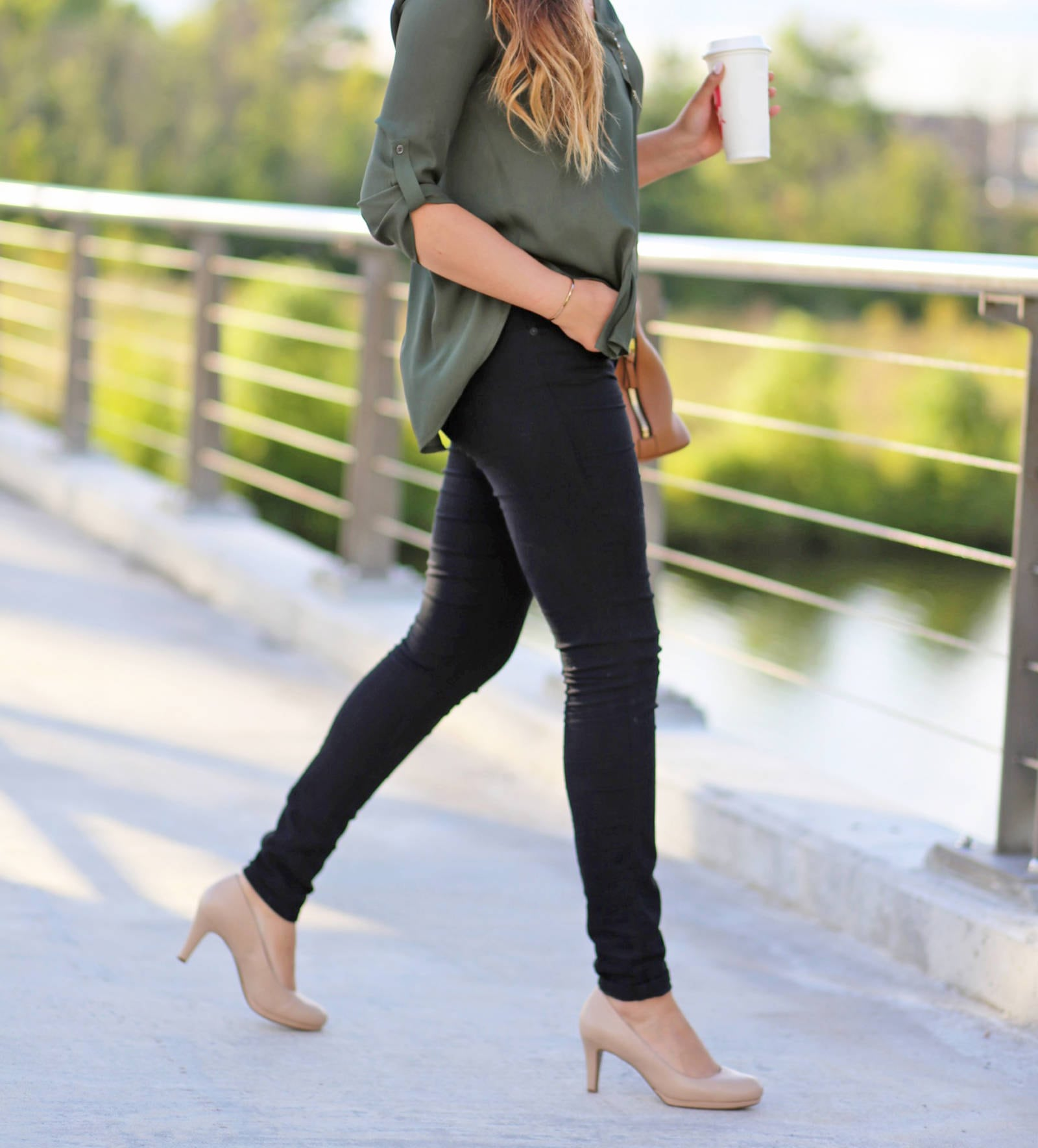 work appropriate heels that are comfortable | work heels | work outfit | Mash Elle beauty blogger