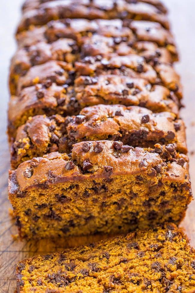 pumpkinbread | the top pumpkin dessert recipes for fall | fall recipes | pumpkin recipes