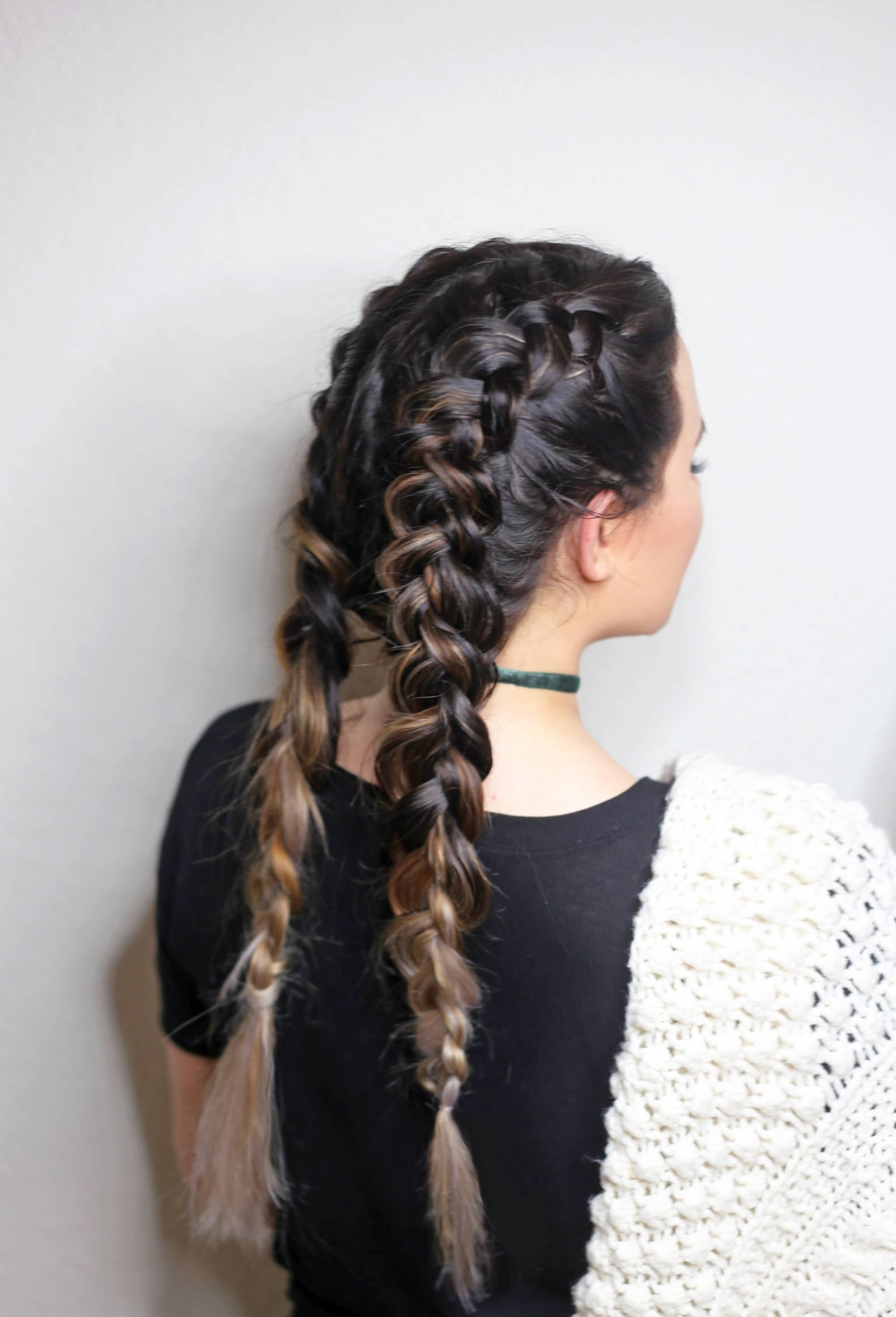Double Dutch Braids For Beginners