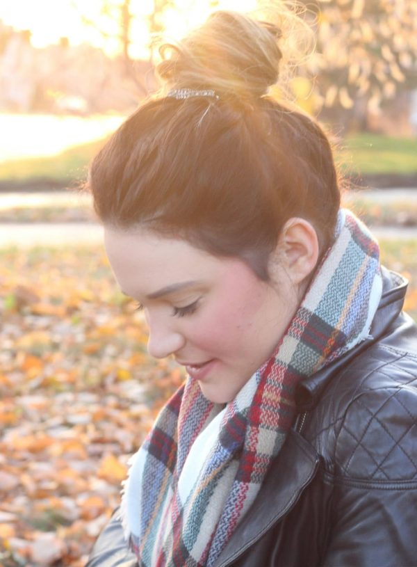 Fall Topknot Tutorial