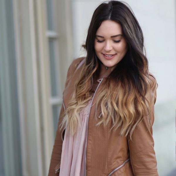 This Faux Leather Coat Will Become Your Fall Staple