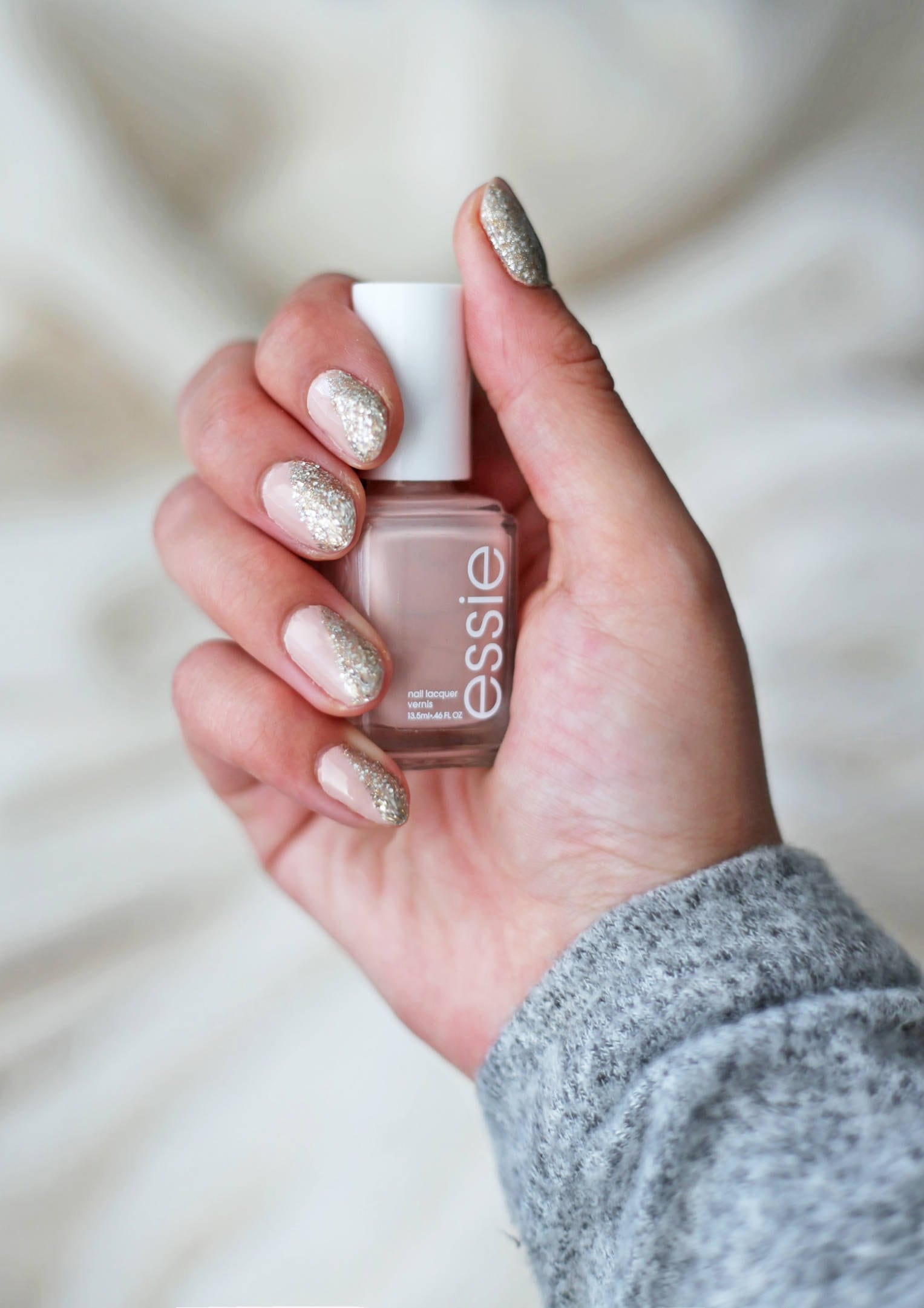 Try Out This Simple Silver Metallic Nail Tutorial | Mash Elle