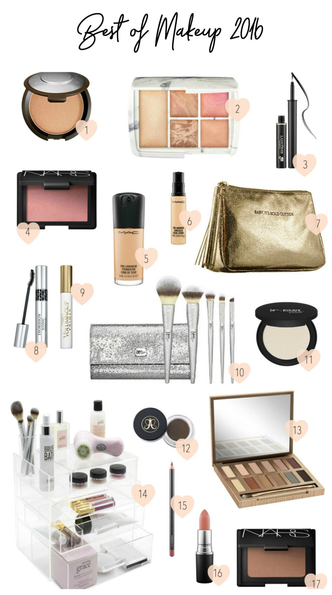 Best of Beauty: Makeup featured by popular Orlando beauty blogger, Mash Elle