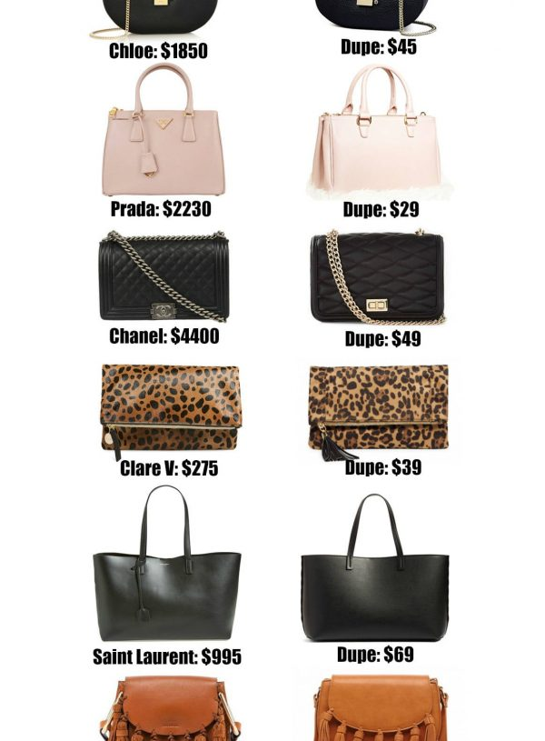 The Ultimate Designer Bag Dupes Guide by popular Orlando fashion blogger Mash Elle