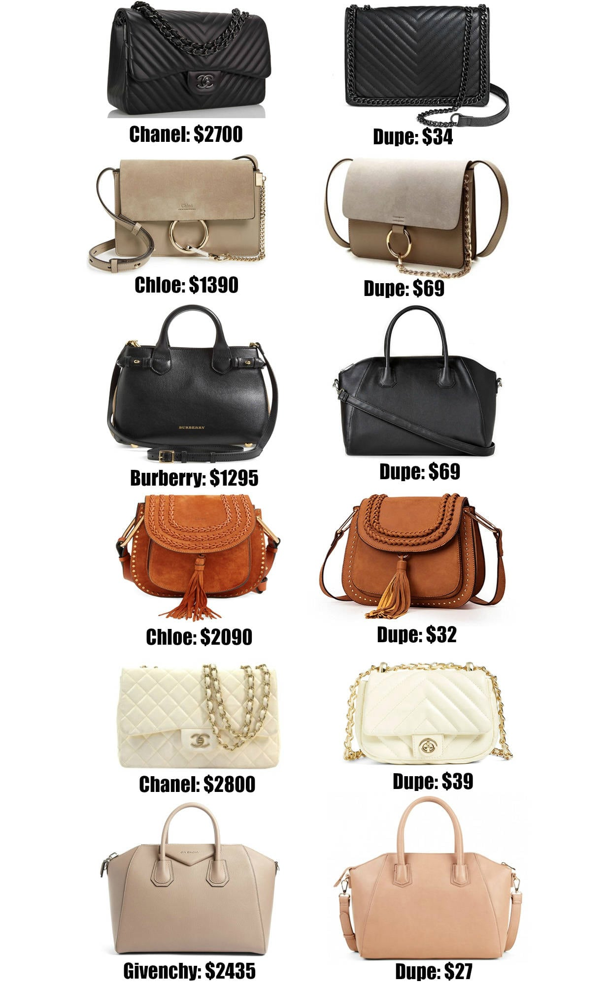 5a652228ece The Ultimate Designer Bag Dupes Guide by popular Orlando fashion blogger  Mash Elle