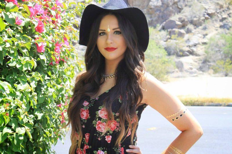 Mash Elle beauty lifestyle blogger |  festival fashion | Festival outfit | Coachella | Music festivals | black hat