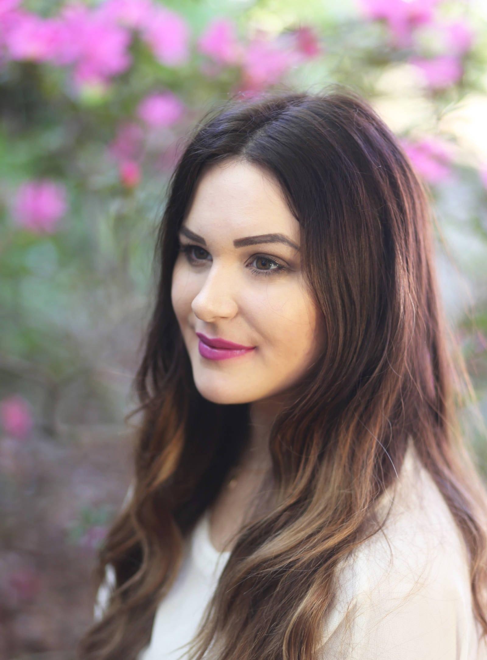 floral inspired makeup   spring makeup   makeup tutorial   Mash Elle   flowers   pink