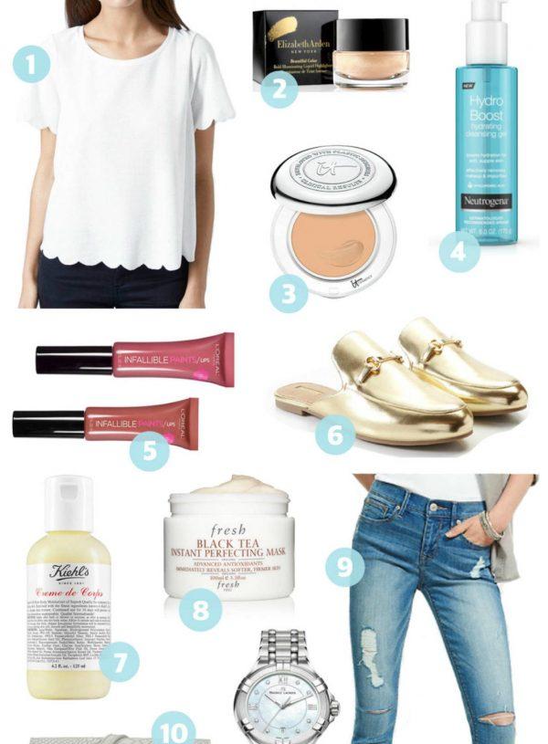 Mash Elle March favorites jeans watch makeup