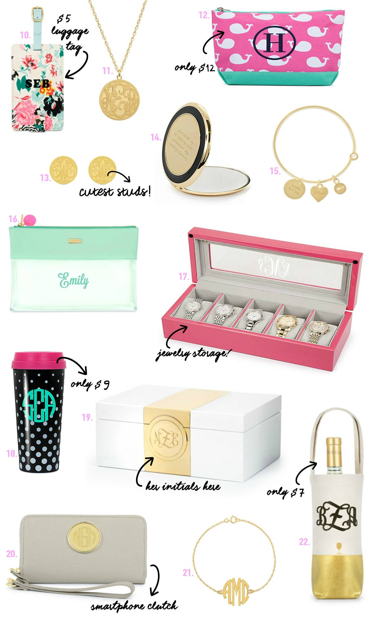 Mash Elle lifestyle blogger shares the best personalized gifts