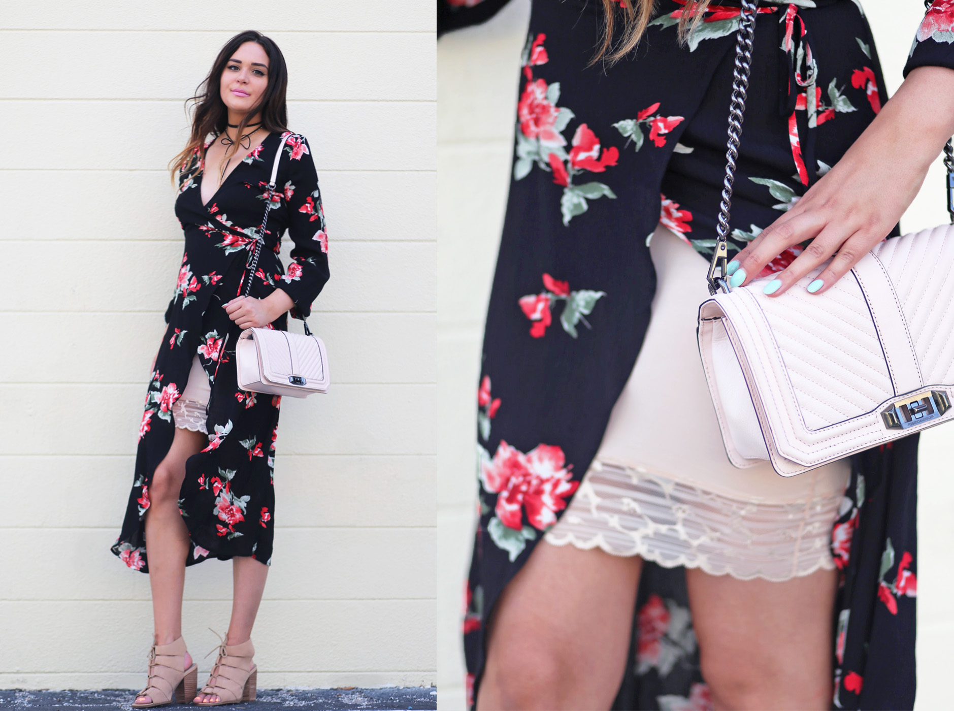 Lace dress up outfit | Mash elle blogger | lace | lacey outfit | white lace | summer outfit Mash elle lace bralette | lace floral wrap dress