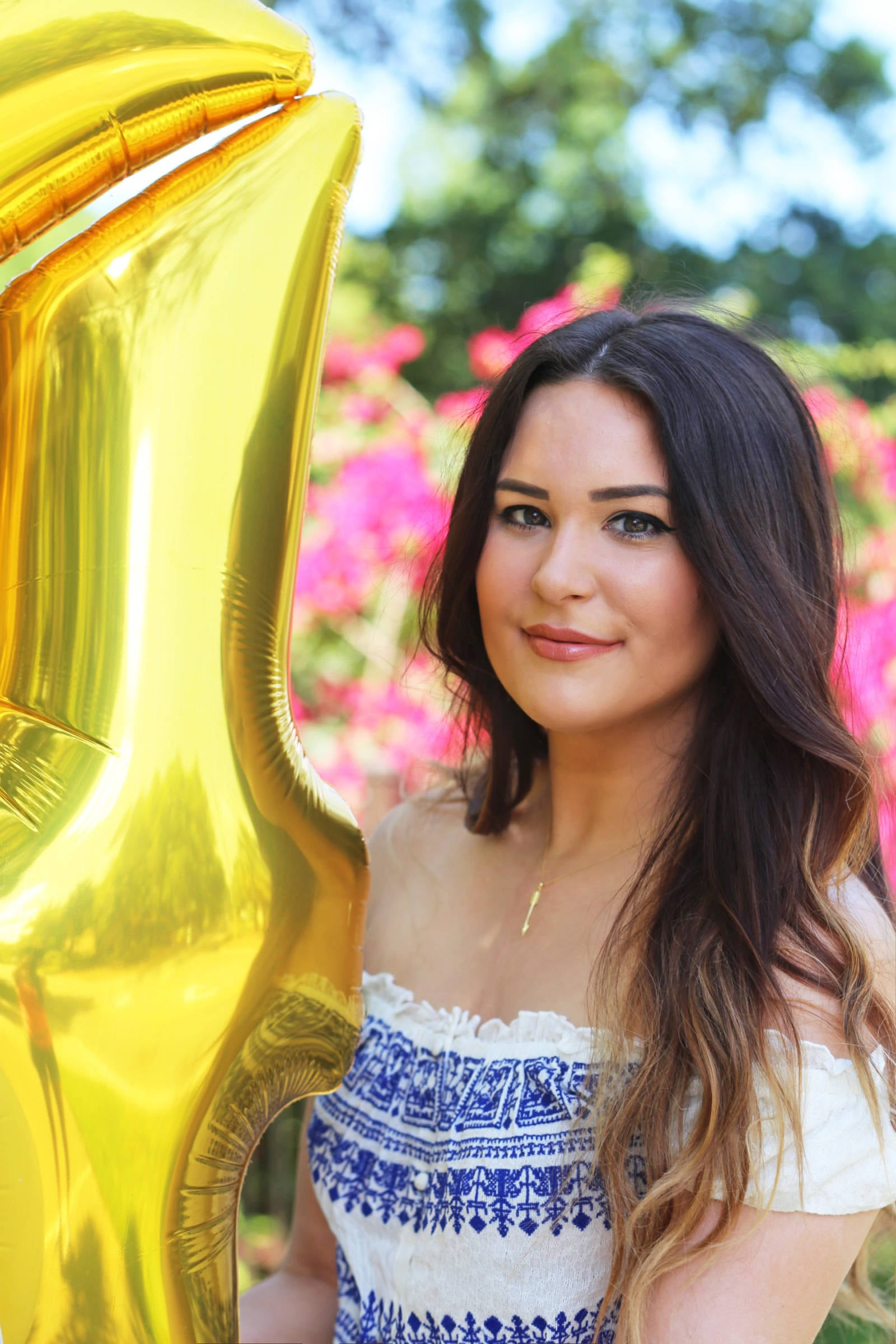 Where to purchase a large gold number balloon for a special occasion