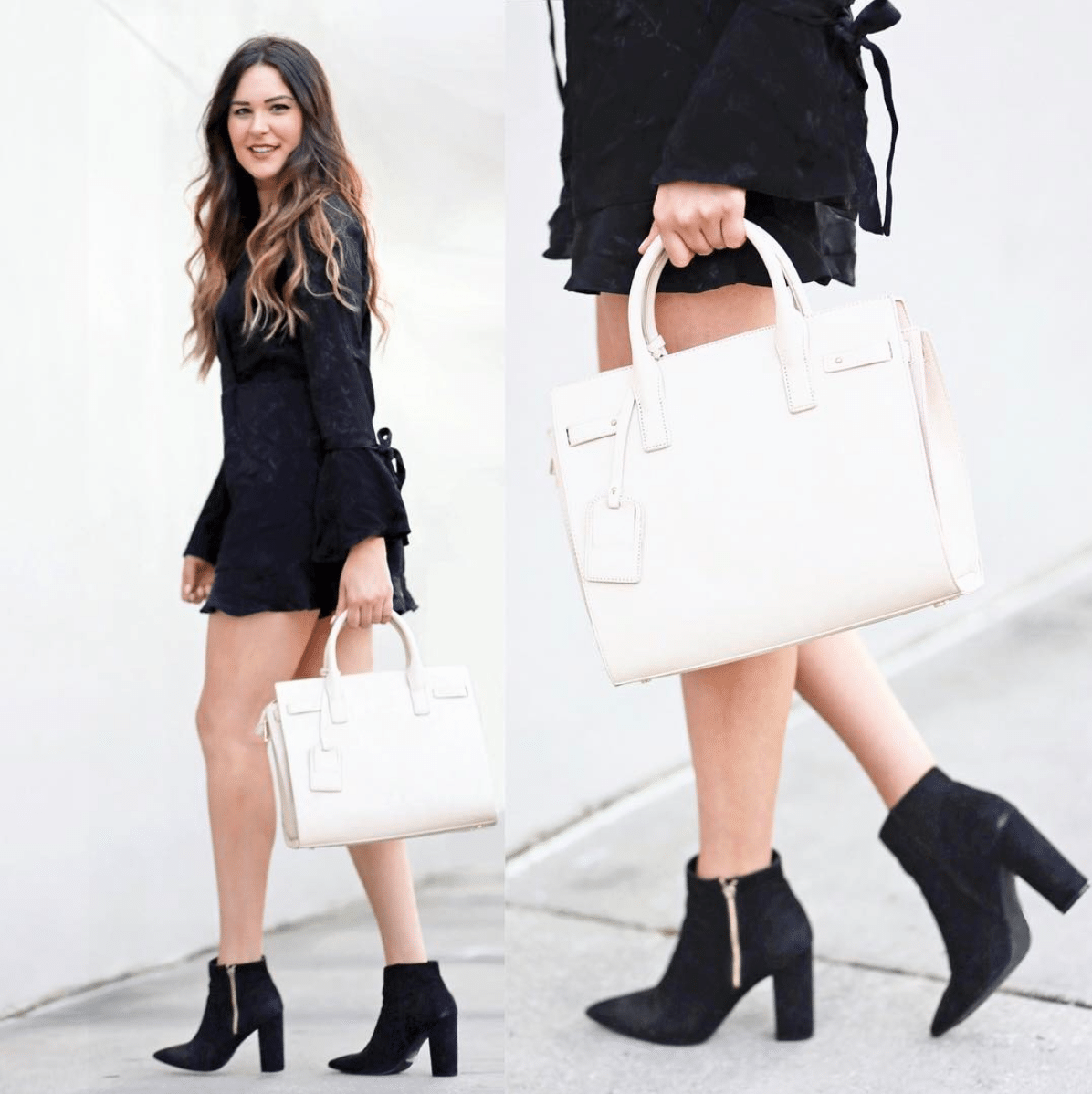 Shop my instagram | Mash Elle beauty blogger | fashion inspo | Shop my closet | instagram style | black bell sleeved romper