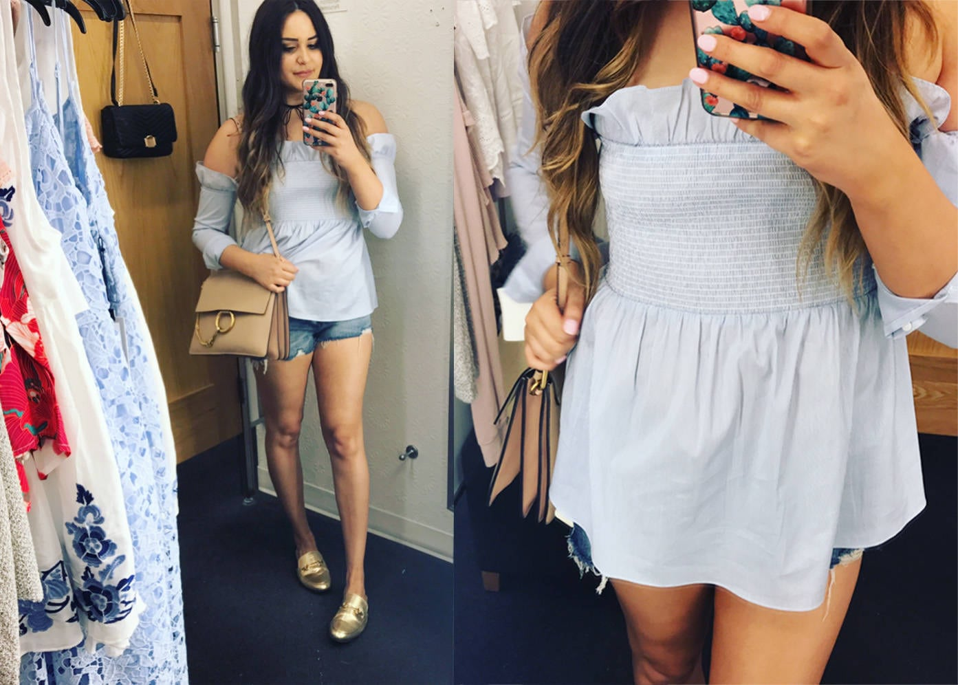 7 tops for summer | summer fashion | summer shirts |mash elle style  blogger | off the shoulder poplin