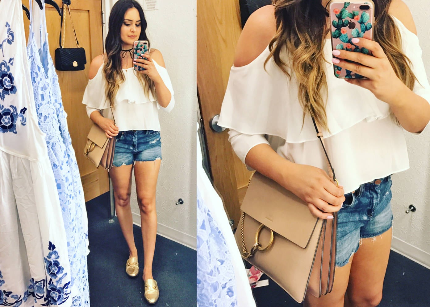 7 tops for summer | summer fashion | summer shirts |mash elle style  blogger | white off the shoulder flowy top